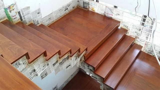 Nổi bật với sàn nhựa ốp cầu thang sang trọng cao cấp nhất hiện nay