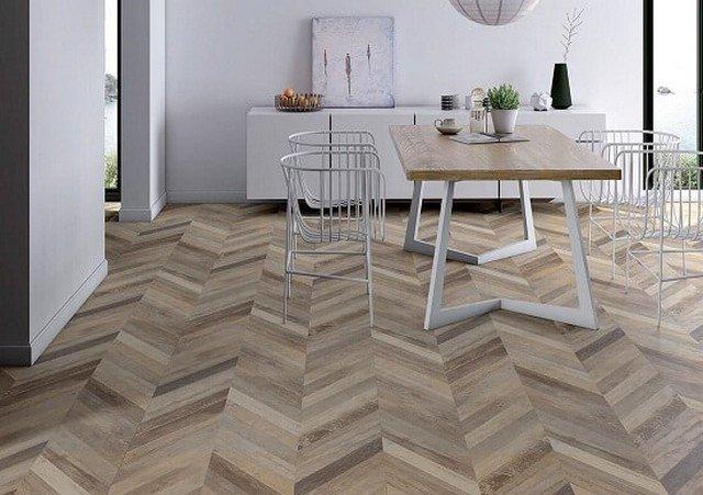 Sàn gỗ xương cá - Xu thế lát sàn độc đáo mới nhất năm 2021