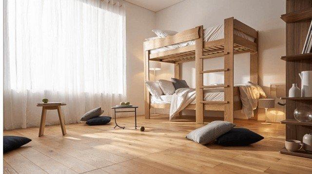 Sàn gỗ cách âm- Giải pháp chống ồn lý tưởng cho các căn hộ, chung cư